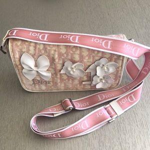 Dior crossbody vintage pink 1